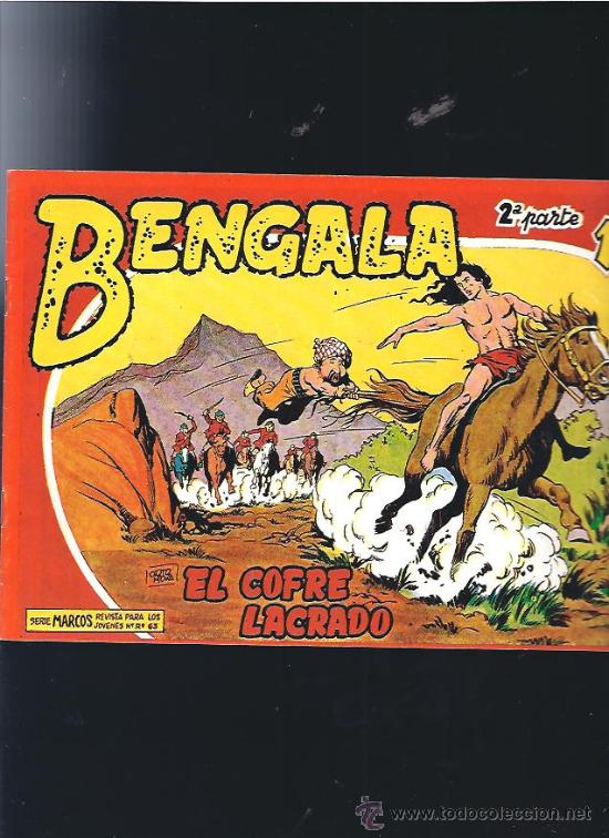 BENGALA 2 (Tebeos y Comics - Maga - Bengala)