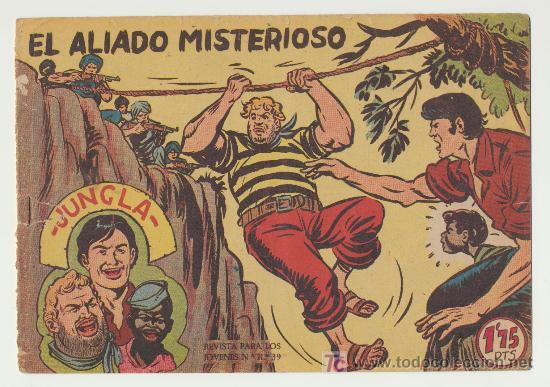 JUNGLA Nº 12. (Tebeos y Comics - Maga - Otros)