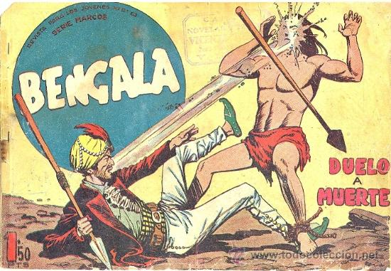 BENGALA 1ª PARTE 48 (Tebeos y Comics - Maga - Bengala)
