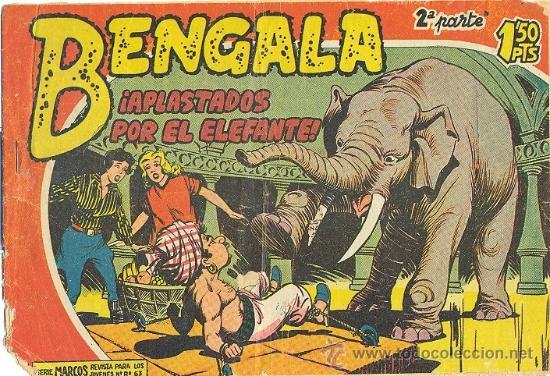 BENGALA 2ª PARTE 5 (Tebeos y Comics - Maga - Bengala)