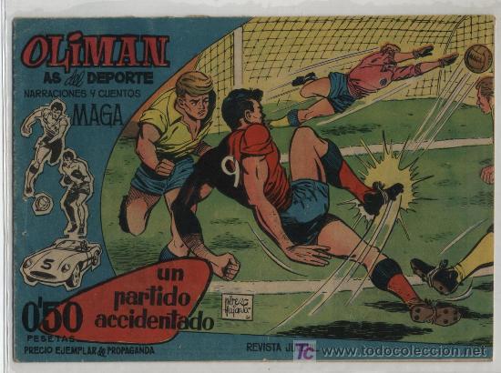 OLIMAN Nº 1. MAGA 1961. (Tebeos y Comics - Maga - Oliman)