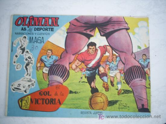 OLIMAN Nº 10, CON CROMO EN LA CONTRAPORTADA. GRACIA (Tebeos y Comics - Maga - Oliman)