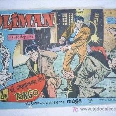 Tebeos: OLIMAN Nº 50, CON CROMO EN LA CONTRAPORTADA. REAL GIJON CLUB DE FUTBOL. Lote 25073528