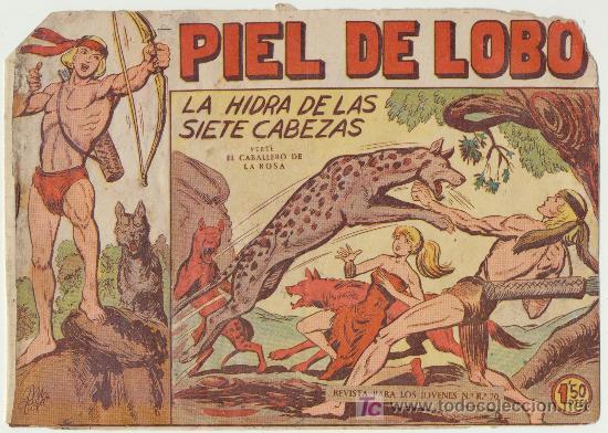 PIEL DE LOBO Nº 8. (Tebeos y Comics - Maga - Piel de Lobo)