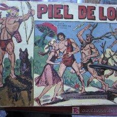 Tebeos: PIEL DE LOBO / LOTE DE 73 NUMEROS / ORIGINAL. Lote 15839924