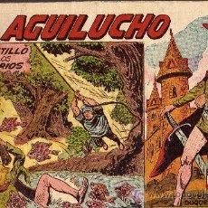 Tebeos: EL AGUILUCHO Nº 25 - MANUEL GAGO - SERIE DUQUE NEGRO - EDITORIAL MAGA 1959 - ORIGINAL, NO FACSIMIL. Lote 15990830