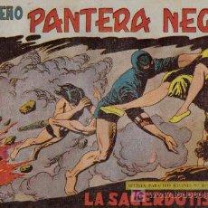 Tebeos: PEQUEÑO PANTERA NEGRA - Nº 156 - LA SACERDOTISA - EDITORIAL MAGA - ORIGINAL DE 1958.. Lote 16065213
