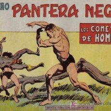 Tebeos: PEQUEÑO PANTERA NEGRA - Nº 160 - LOS COMEDORES DE HOMBRES - EDITORIAL MAGA - ORIGINAL DE 1958. Lote 16065880