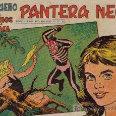 Tebeos: PEQUEÑO PANTERA NEGRA - Nº 168 - LOS DEMONIOS DE LA SELVA - EDITORIAL MAGA - ORIGINAL DE 1958.. Lote 16066962