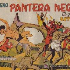 Tebeos: PEQUEÑO PANTERA NEGRA - Nº 170 - EL GRAN SATHAN - EDITORIAL MAGA - ORIGINAL DE 1958.. Lote 16066990