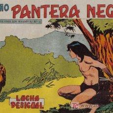 Tebeos: PEQUEÑO PANTERA NEGRA - Nº 176 - LUCHA DESIGUAL - EDITORIAL MAGA - ORIGINAL DE 1958.. Lote 16067075