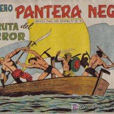 Tebeos: PEQUEÑO PANTERA NEGRA - Nº 180 - LA GRUTA DEL HORROR - EDITORIAL MAGA - ORIGINAL DE 1958.. Lote 16067154