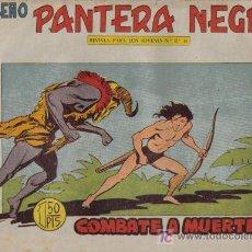 Tebeos: PEQUEÑO PANTERA NEGRA - Nº 182 - COMBATE A MUERTE - EDITORIAL MAGA - ORIGINAL DE 1958.. Lote 16067197