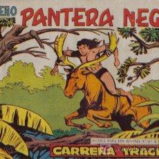 Tebeos: PEQUEÑO PANTERA NEGRA - Nº 183 - CARRERA TRÁGICA - EDITORIAL MAGA - ORIGINAL DE 1958.. Lote 16067206
