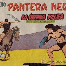 Tebeos: PEQUEÑO PANTERA NEGRA - Nº 185 - LA ÚLTIMA PELEA - EDITORIAL MAGA - ORIGINAL DE 1958.. Lote 16067227