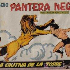 Tebeos: PEQUEÑO PANTERA NEGRA - Nº 187 - LA CAUTIVA DE LA TORRE - EDITORIAL MAGA - ORIGINAL DE 1958.. Lote 16067243