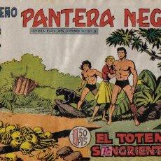 Tebeos: PEQUEÑO PANTERA NEGRA - Nº 189 - EL TOTEM SANGRIETO - EDITORIAL MAGA - ORIGINAL DE 1958.. Lote 16067260