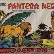 Tebeos: PEQUEÑO PANTERA NEGRA - Nº 190 - CUERPO A CUERPO - EDITORIAL MAGA - ORIGINAL DE 1958.. Lote 16067725