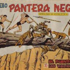 Tebeos: PEQUEÑO PANTERA NEGRA - Nº 198 - EL PUENTE DE LOS VALIENTES - EDITORIAL MAGA - ORIGINAL DE 1958.. Lote 16067739