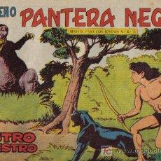 Tebeos: PEQUEÑO PANTERA NEGRA - Nº 199 - RASTRO SINIESTRO - EDITORIAL MAGA - ORIGINAL DE 1958.. Lote 16067748