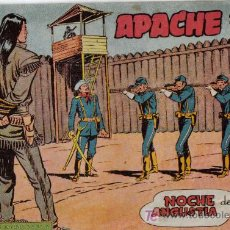Tebeos: APACHE - 2ª PARTE - Nº 32 - NOCHE DE ANGUSTIA - EDITORIAL MAGA - ORIGINAL DE 1957.. Lote 16077960