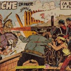 Tebeos: APACHE - 2ª PARTE - Nº 33 - ¡A SANGRE Y FUEGO! - EDITORIAL MAGA - ORIGINAL DE 1957. Lote 16077969