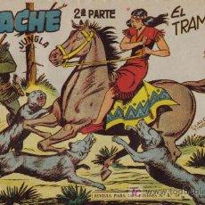 Tebeos: APACHE - 2ª PARTE - Nº 35 - EL TRAMPERO - EDITORIAL MAGA - ORIGINAL DE 1957. Lote 16078041