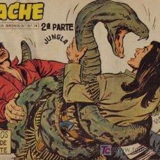 Tebeos: APACHE - 2ª PARTE - Nº 36 - MENSAJEROS DE MUERTE - EDITORIAL MAGA - ORIGINAL DE 1957.. Lote 16078125
