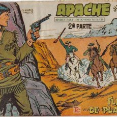 Tebeos: APACHE - 2ª PARTE - Nº 37 - FLECHAS DE PLATA - EDITORIAL MAGA - ORIGINAL DE 1957.. Lote 16078140