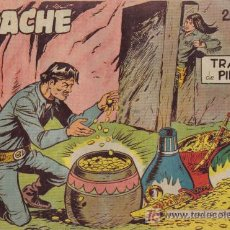 Tebeos: APACHE - 2ª PARTE - Nº 40 - TRAMPA DE PIEDRA - EDITORIAL MAGA - ORIGINAL DE 1957.. Lote 16078164