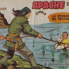 Tebeos: APACHE - 2ª PARTE - Nº 41 - LA VENGANZA DEL DESTINO - EDITORIAL MAGA - ORIGINAL DE 1957.. Lote 16078168