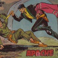 Tebeos: APACHE - 2ª PARTE - Nº 47 - DE PODER A PODER - EDITORIAL MAGA - ORIGINAL DE 1957.. Lote 16078200