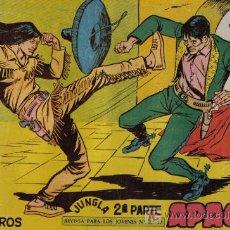 Tebeos: APACHE - 2ª PARTE - Nº 48 - ENTRE CABALLEROS - EDITORIAL MAGA - ORIGINAL DE 1957.. Lote 16078203