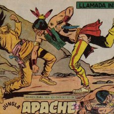 Tebeos: APACHE - 2ª PARTE - Nº 49 - LLAMADA INDIA - EDITORIAL MAGA - ORIGINAL DE 1957.. Lote 16078206