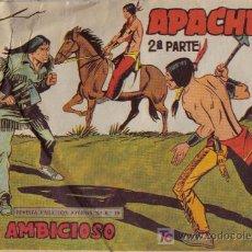 Tebeos: APACHE - 2ª PARTE - Nº 53 - EL AMBICIOSO - EDITORIAL MAGA - ORIGINAL DE 1957.. Lote 16078279