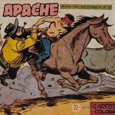 Livros de Banda Desenhada: APACHE - 2ª PARTE - Nº 62 - CARRERA EN COLORADO - EDITORIAL MAGA - ORIGINAL DE 1957.. Lote 16078329