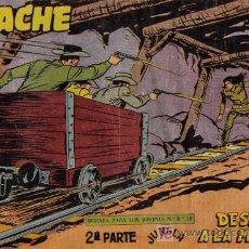 Tebeos: APACHE - 2ª PARTE - Nº 65 - DESAFIO A LA MUERTE - EDITORIAL MAGA - ORIGINAL DE 1957.. Lote 16078339