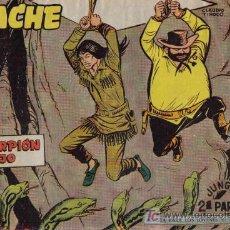 Livros de Banda Desenhada: APACHE - 2ª PARTE - Nº 69 - ESCORPIÓN ROJO - EDITORIAL MAGA - ORIGINAL DE 1957.. Lote 16078349