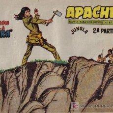 Tebeos: APACHE - 2ª PARTE - Nº 70 - LA TRAICIÓN DE LA SOMBRA - EDITORIAL MAGA - ORIGINAL DE 1957.. Lote 16078352