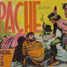 Tebeos: APACHE - Nº 24 - EL GENERAL LÓPEZ ATACA - EDITORIAL MAGA - ORIGINAL DE 1956. Lote 16081545