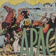 Tebeos: APACHE - Nº 27 - EL POSTE DEL TORMENTO - EDITORIAL MAGA - ORIGINAL DE 1956.. Lote 16081588