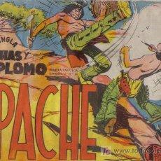 Tebeos: APACHE - Nº 29 - FLECHAS Y PLOMO - EDITORIAL MAGA - ORIGINAL DE 1956.. Lote 16081609