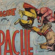Tebeos: APACHE - Nº 38 - LA VORAGINE - EDITORIAL MAGA - ORIGINAL DE 1956.. Lote 16081930