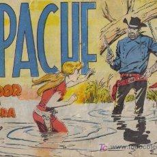 Tebeos: APACHE - Nº 48 - TRAIDOR EN LA SOMBRA - EDITORIAL MAGA - ORIGINAL DE 1956.. Lote 16082177