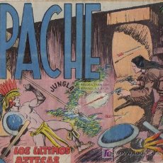 Tebeos: APACHE - Nº 49 - LOS ÚLTIMOS AZTECAS - EDITORIAL MAGA - ORIGINAL DE 1956.. Lote 16082190