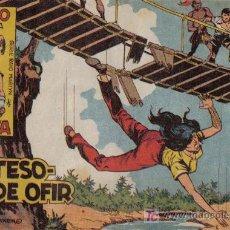 Livros de Banda Desenhada: RAYO DE LA SELVA - Nº 4 - LOS TESOROS DE OFIR - EDITORIAL MAGA - ORIGINAL DE 1960. Lote 16091849