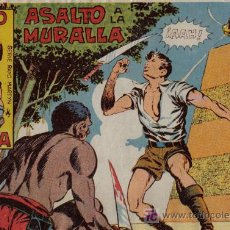 Tebeos: RAYO DE LA SELVA - Nº 5 - ASALTO A LA MURALLA - EDITORIAL MAGA - ORIGINAL DE 1960. Lote 16091858
