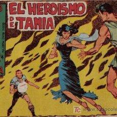 Livros de Banda Desenhada: RAYO DE LA SELVA - Nº 8 - EL HEROÍSMO DE TANIA - EDITORIAL MAGA - ORIGINAL DE 1960. Lote 16091884