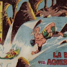 Tebeos: RAYO DE LA SELVA - Nº 9 - LA BARCA Y EL AQUERONTE - EDITORIAL MAGA - ORIGINAL DE 1960. Lote 16091901
