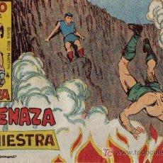 Livros de Banda Desenhada: RAYO DE LA SELVA - Nº 10 - AMENAZA SINIESTRA - EDITORIAL MAGA - ORIGINAL DE 1960. Lote 16091911